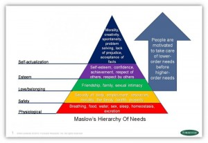 Maslow's Hierarchy of Needs 1